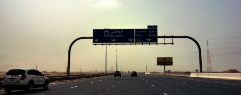 On the Road to Abu Dhabi