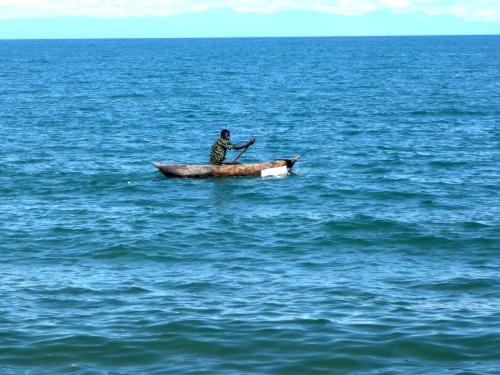 No lago Malawi