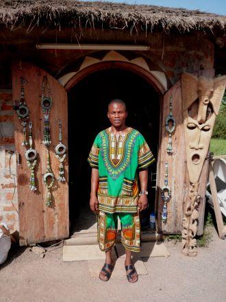 Nigeriano na Vila Turística