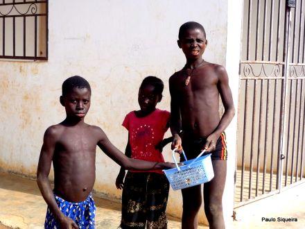 Crianças em Bubaque