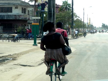 Bicleta Taxi
