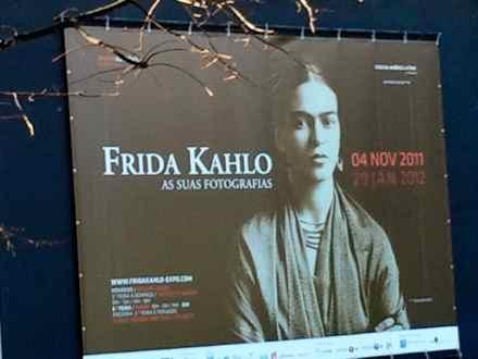Exposição de fotografias Frida Kahlo