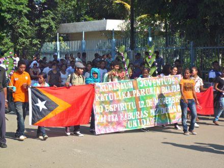 Manifestação no dia 12 de Novembro