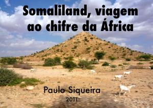 Capa do Livro - Somaliland